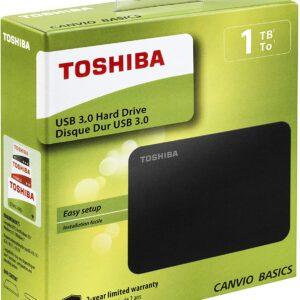 Toshiba Disque dur Externe Portable 2,5
